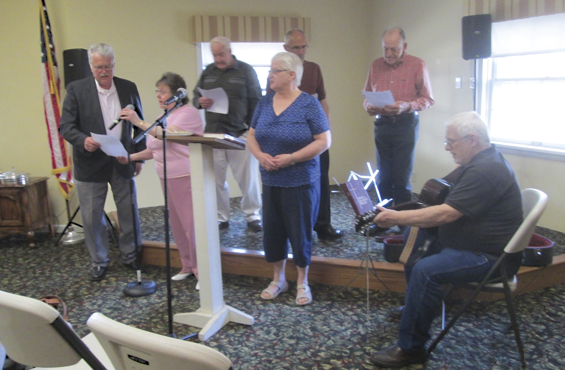 Residents Singing