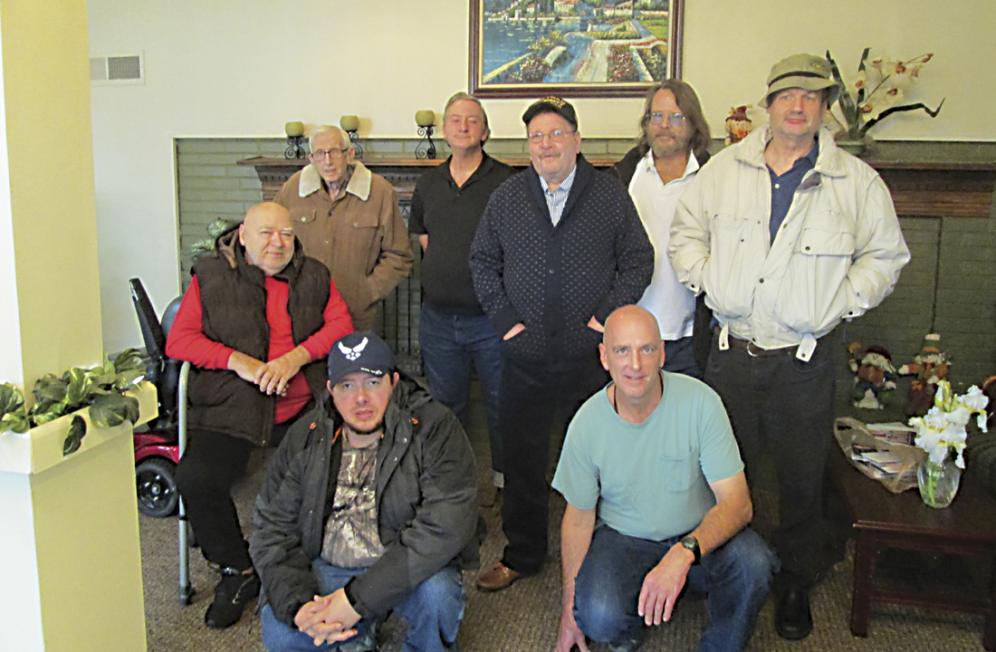 Group Photo of Male Residents